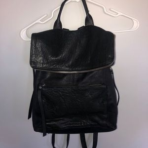 Stylish Faux Leather BackPack